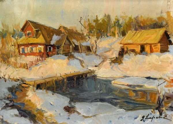Лапшин   -русская зима