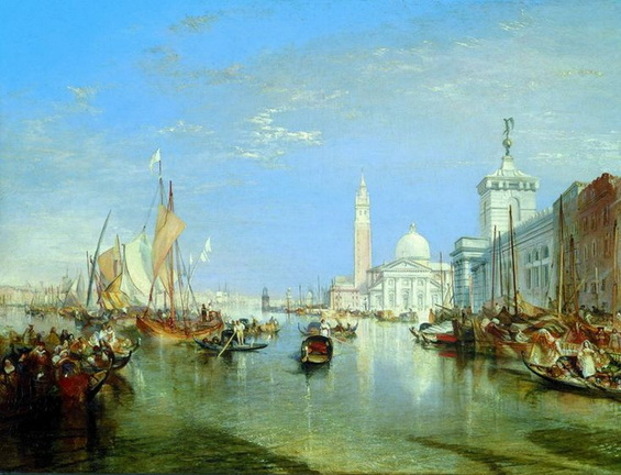 Joseph Mallord William - Venice, The Dogana