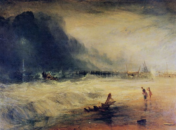 Joseph Mallord William Turner  Life-Boat and Manby Apparatus