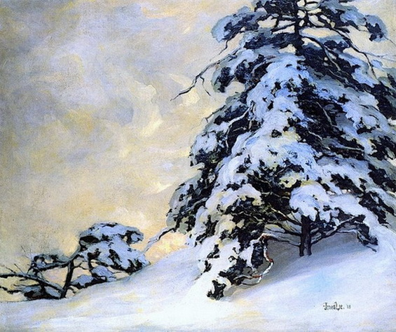 Jonas Lie  After the Snowfall