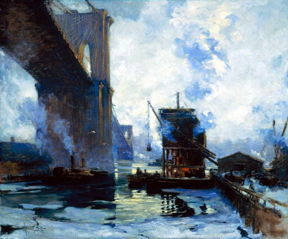 Jonas Lie  Morning on the River