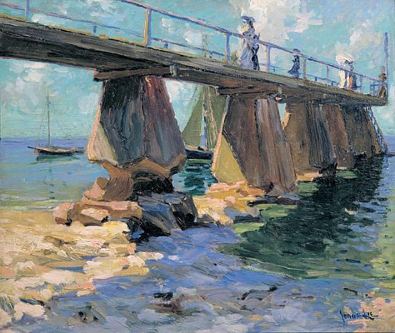 Jonas Lie  Дамы на мосту