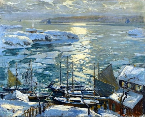 Jonas Lie The Old Ships Draw to Home Again