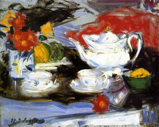 Francis Cadell   Still Life with Tea Pot