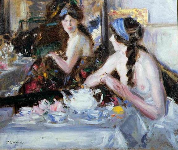 Francis Cadell   The Mirror