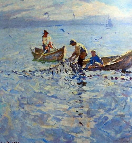 Frank Weston Benson - в море