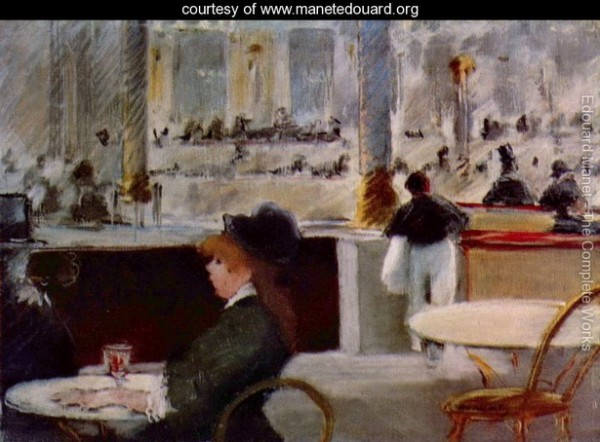 Edouard Manet   Interior-of-a-Cafe-large