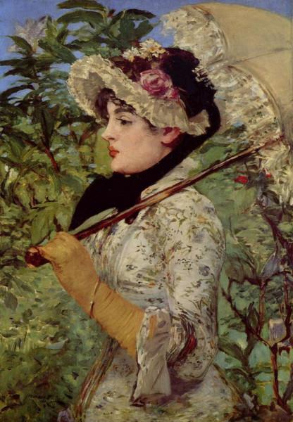 Edouard Manet   Jeanne de Marsy