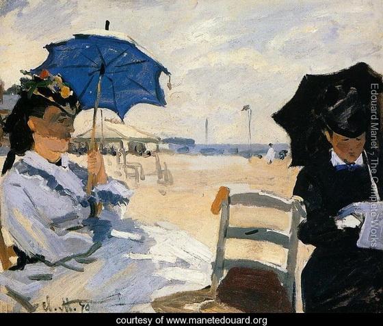Edouard Manet   trouville-large