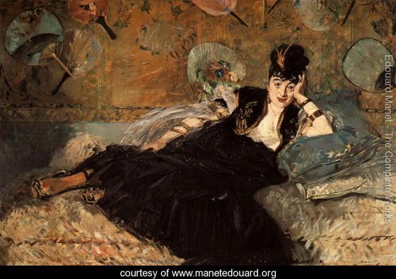 Edouard Manet   Woman-with-Fans-(Nina-de-Callias)-large