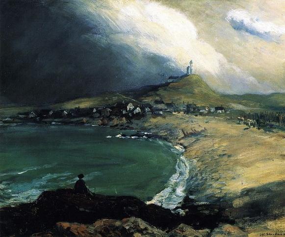 William James Glackens  Cap Noir-Saint Pierre 1903