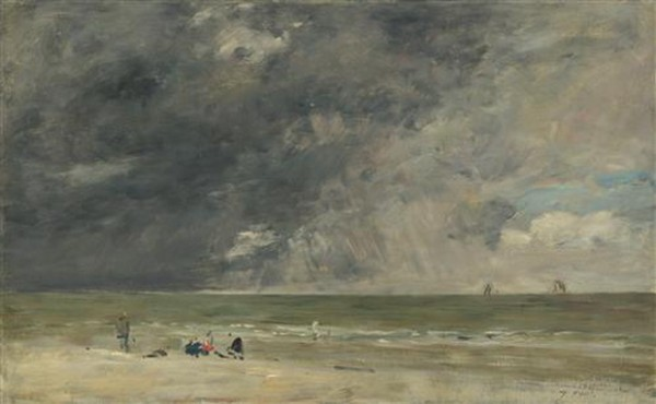 Eugene Boudin Beach at Trouville