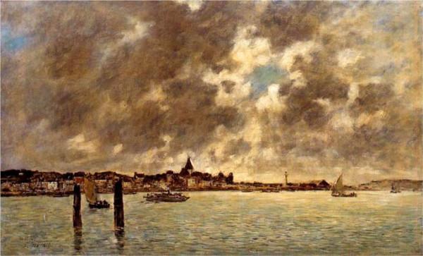 Eugene Boudin берег моря