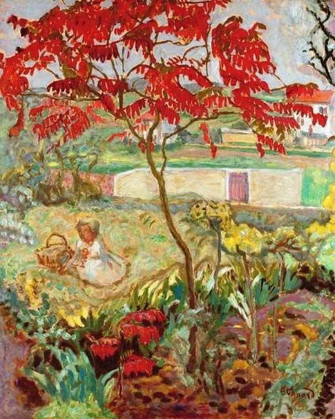 Edouard Vuillard -  Le jardin