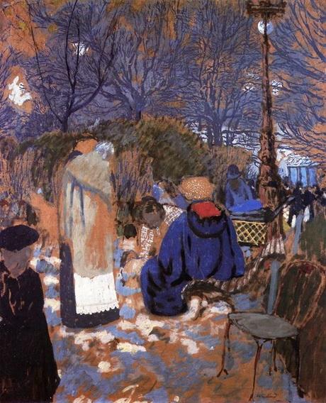 Edouard Vuillard -  Park Scene