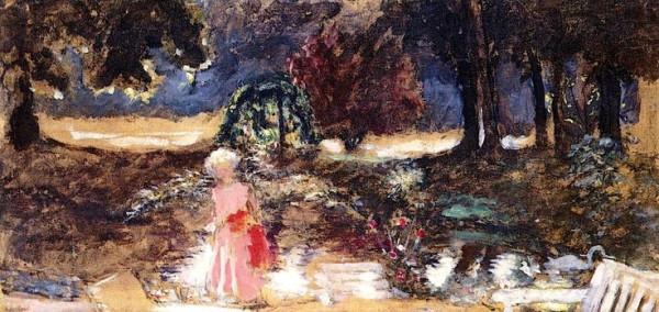 Edouard Vuillard  - The Park of the Chateau