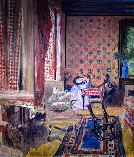 Edouard Vuillard - At the Board Game, 1902