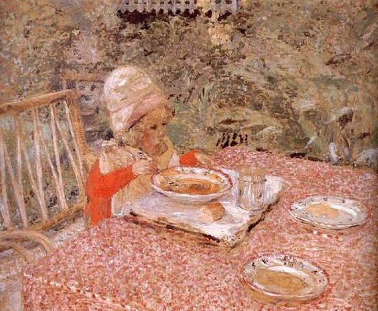 Edouard Vuillard - Child's lunch