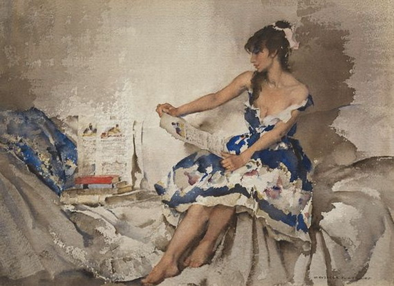 William Russell Flint - Cecilia