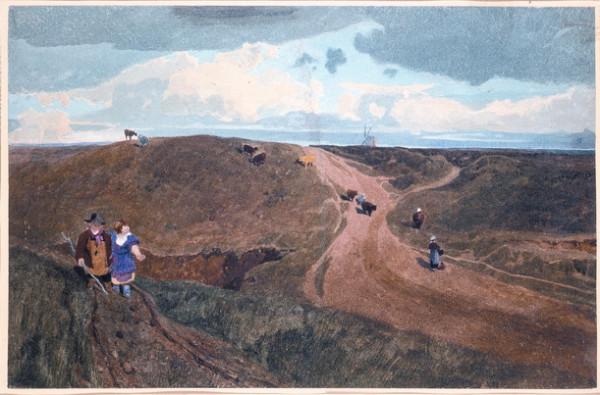 John Sell Cotman - Mousehold Heath