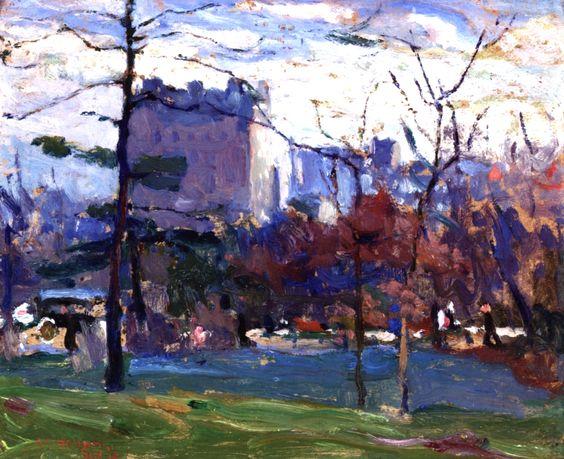 Armin Hansen - Central Park