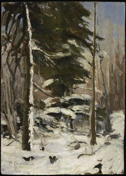 Franklin Carmichael -  Edge of the Wood
