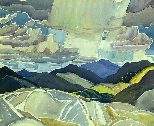 Franklin Carmichael -  La Cloche Landscap