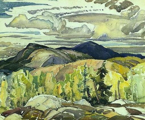 Franklin Carmichael -  La Cloche Landscape