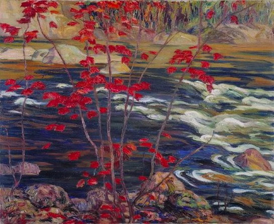Franklin Carmichael -  Red Maple