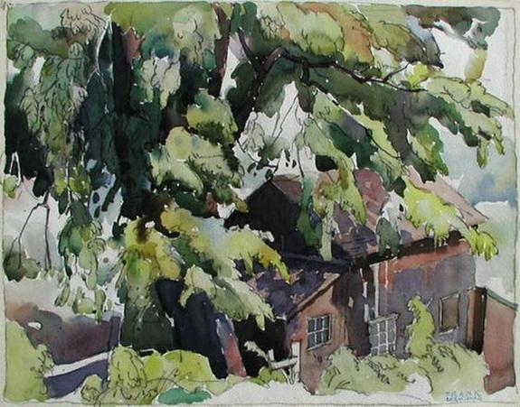 Franklin Carmichael -  Summer Cottage