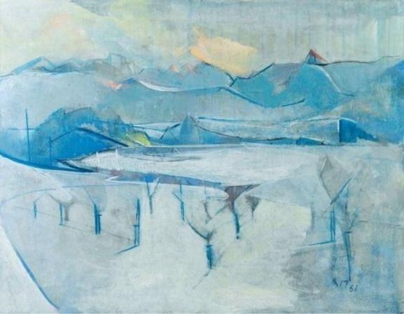 Anton Mahringer - Winterstudie
