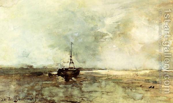 Johan Hendrik Weissenbruch - On The Beach