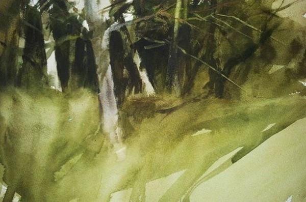 Francisco Castro -   Ejercicio de troncos