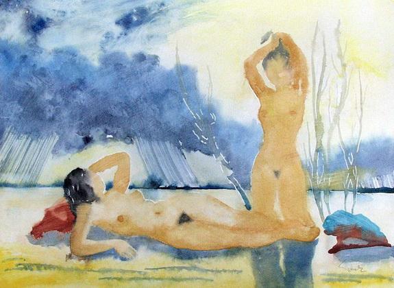 Eduard Tomek - Na plazi