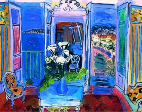 Raoul Dufy - Interior_with_Open_Window