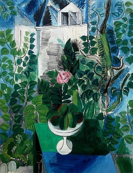 Raoul Dufy - Jardin et maison