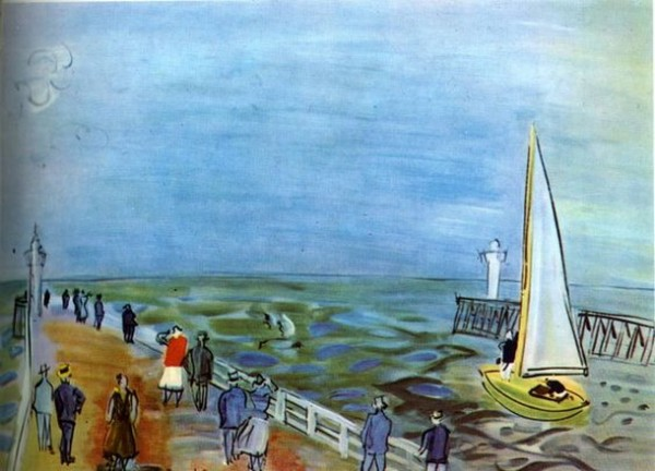 Raoul Dufy - Le Havre, Normandy