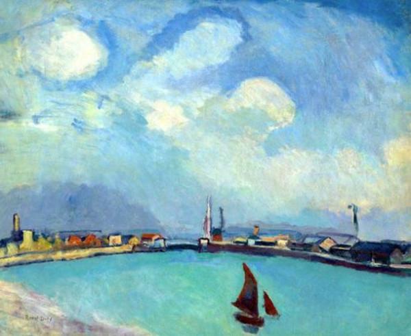 Raoul Dufy - Le port