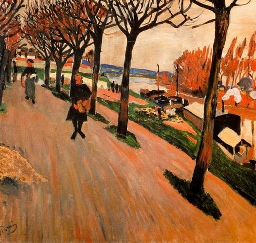 Andre Derain  -  Banks of Seine