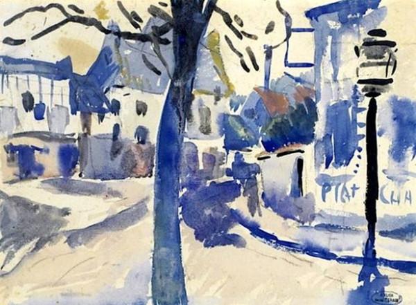 Andre Derain  -  La Place Du Village