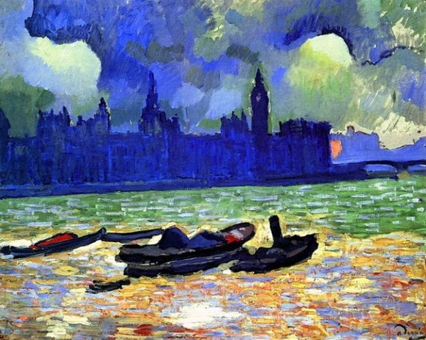 Andre Derain  - Andre Derain  - The Palace of Westminster