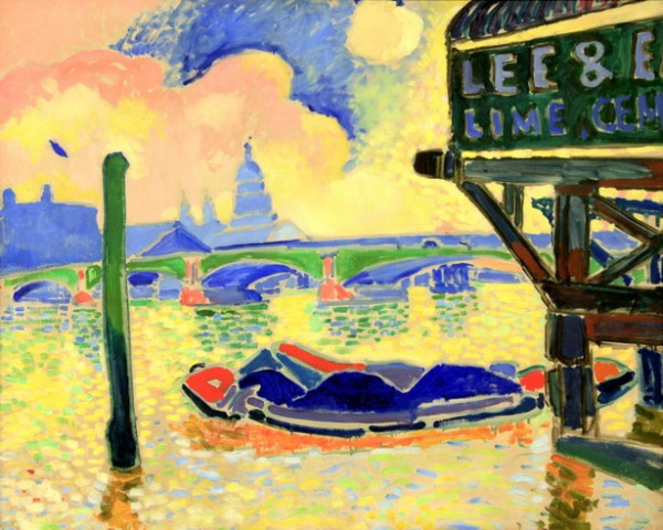 Andre Derain  - Blackfriars Bridge
