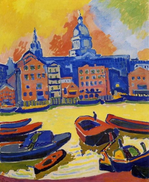 Andre Derain  - London  St. Paul s Cathedral seen from the Thames