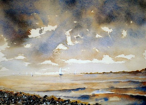 Rowland Hilder - After the Masters