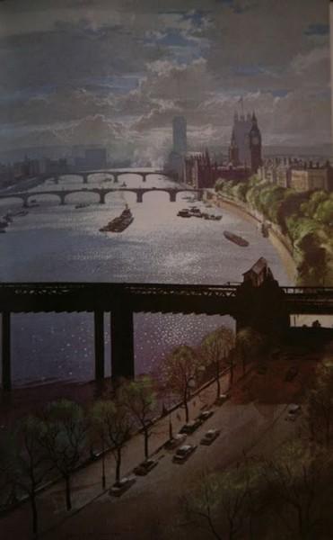 Rowland Hilder - London