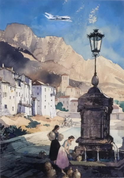 Rowland Hilder - Near Pyrenees