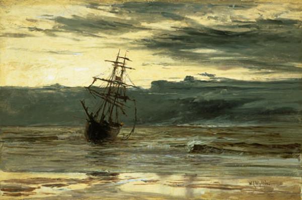 William Lionel Wyllie - Dawn after a Storm