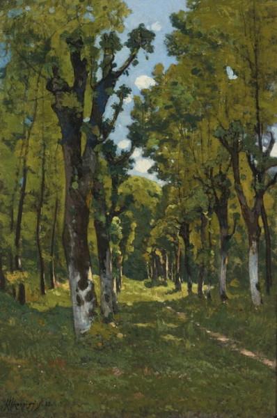 Henri Joseph Harpignies - Park