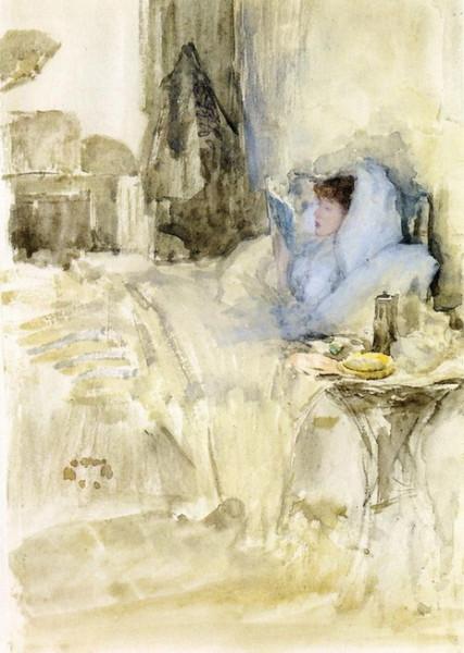 James Abbott McNeill Whistler  -  Convalescent