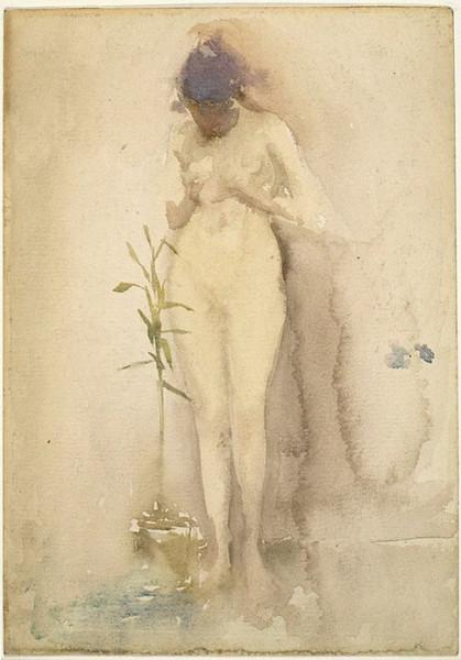 James Abbott McNeill Whistler  -  Forget-Me-Not